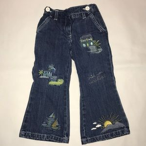 Gymboree Vintage vacation Embroidered jeans 3T